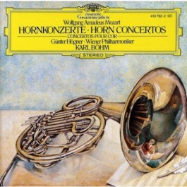 Wiener Philharmoniker Karajan Mozart Horn Concertos CD