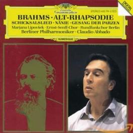 Berliner Philharmoniker Abbado Brahms Alto Rhapsody CD