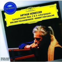 Herbert Von Karajan Berliner Phil Honegger Symphonien 2&3 CD