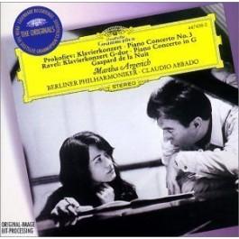 Dg Originals Prokofiev, Ravel Piano Concert No.3, Piano Concert G Dur CD