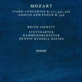 Keith Jarrett Mozart Piano Concertos K271 CD