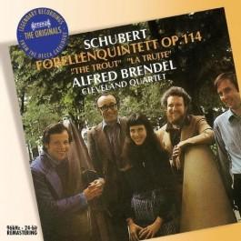 Alfred Brendel Schubert Trout Quintet CD