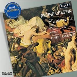 Regine Crespin Lorchde La Suisse Romande Ravel, Berlioz Sheherazade, Nuits D Ete CD