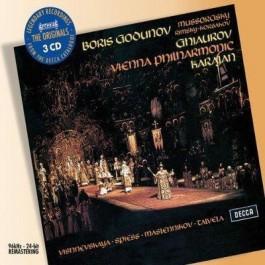 Herbert Von Karajan Wiener Philh Mussorgsky Boris Godunov CD3