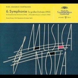 Dg Legendary Hartmann Symphony No 6 CD