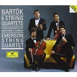 Dg Grand Prix Bartok 6 String Quartets CD
