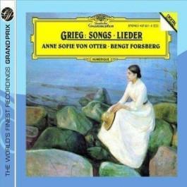 Dg Grand Prix Grieg Songs, Lieder, Melodies CD