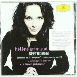 Helene Grimaud Beethoven Concerto No 5, Piano CD