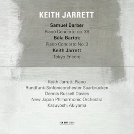 Keith Jarrett Samuel Barber/bela Bartk CD