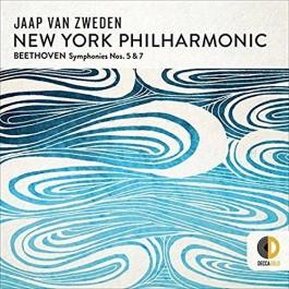 Jaap Van Zweden New York Philharmonic Beethoven Symphonie Nos. 5&7 CD