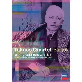 Takacs Quartet Bartok String Quartets 2,3,6 DVD