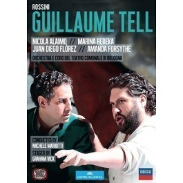 Juan Diego Florez Rossini Guillaume Tell BLU-RAY