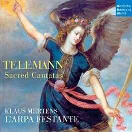 Klaus Martens Telemann Sacred Cantatas CD