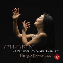 Hisako Kawamura Chopin 24 Preludes CD
