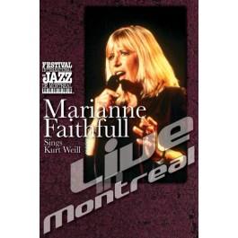 Marianne Faithfull Live In Montreal DVD
