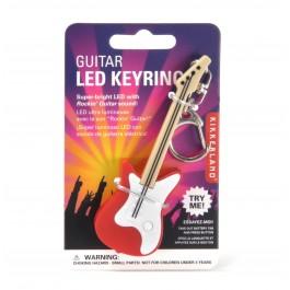 Kikkerland Privjesak S Led Svjetlom Gitara RAZNO