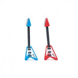 Kikkerland Olovka S Gumicom Guitar Pencil & Eraser RAZNO