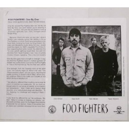 Foo Fighters One By One CD