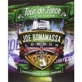 Joe Bonamassa Tour De Force Live In London Shepherds Bush Empire DVD
