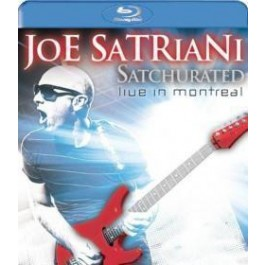 Joe Satriani Satcurated Live In Montreal BLU-RAY