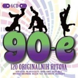 Razni Izvođači 90-E - 120 Originalnih Hitova CD6