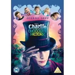 Tim Burton Charlie I Tvornica Čokolade DVD