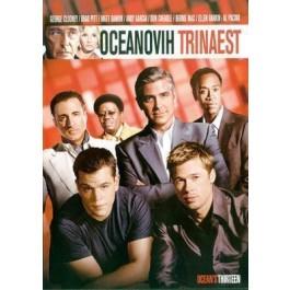 Steven Soderbergh Oceanovih Trinaest DVD