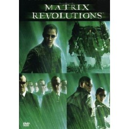 Larry I Andy Wachowski Matrix Revolutions DVD