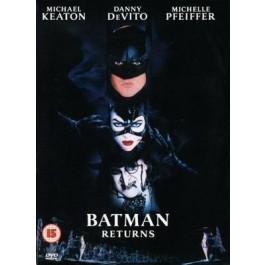 Tim Burton Batman Se Vraća DVD