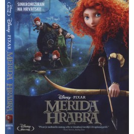 Mark Andrews Brenda Chapman Merida Hrabra BLU-RAY