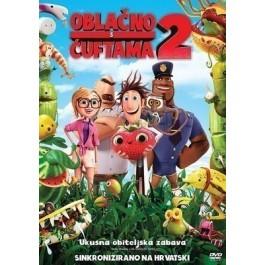 Cody Cameron Kris Pearn Oblačno S Ćuftama 2 DVD