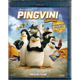 Eric Darnell Simon J Smith Pingvini S Madagaskara BLU-RAY