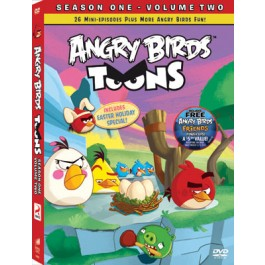 Movie Angry Birds Toons S1 Part 2 DVD