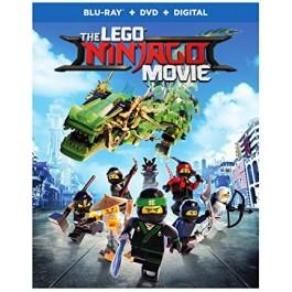 Charlie Bean Paul Fisher Bob Logan Lego Ninjago Film BLU-RAY