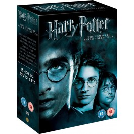 Movie Harry Potter Komplet Box DVD8