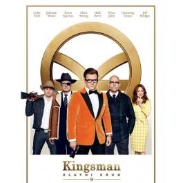 Matthew Vaughn Kingsman Zlatni Krug DVD