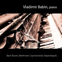 Vladimir Babin Bach - Busoni , Piano CD/MP3