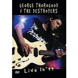 George Thorogood Live In 99 DVD
