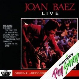 Joan Baez Live CD