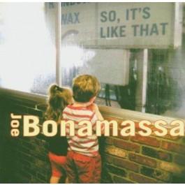 Joe Bonamassa So, Its Like That CD