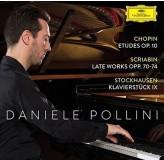 Daniele Pollini Chopin, Scribian, Stockhausen CD