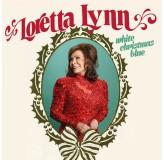 Loretta Lynn White Christmas Blue LP