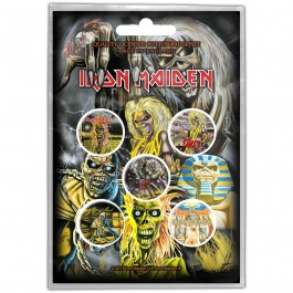 Iron Maiden Button Bagde 5 Komada BADGE