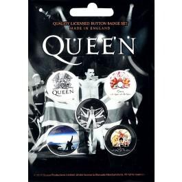 Queen Button Badges 5 Komada BADGE