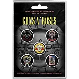 Guns N Roses Button Badges 5 Komada BADGE