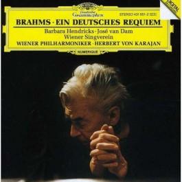 Wiener Philharmoniker Karajan Brahms Ein Deutsches Requiem CD