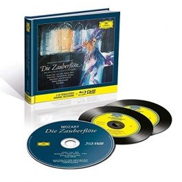 Evelyn Lear Lisa Otto Mozart Die Zauberflute CD2+BLU-RAY AUDIO