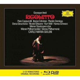 Placido Domingo Piero Cappuccilli Verdi Rigoletto CD2+BLU-RAY AUDIO