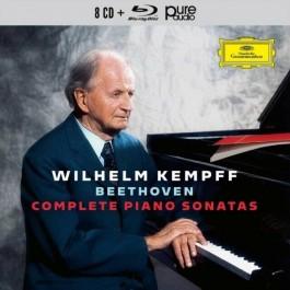 Wilhelm Kempff Beethoven Complete Piano Sonatas CD8+BLU-RAY AUDIO