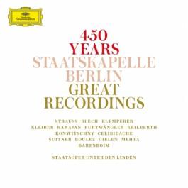 Various Artists 450 Years Staatskapelle Berlin Great Recordings CD14